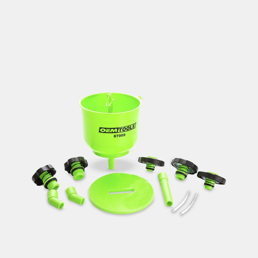 OEM Tools No-Spill Coolant-Filling Funnel Kit
