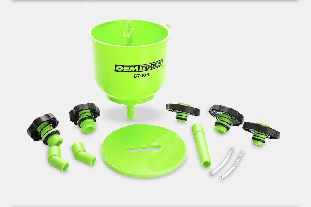 OEM Tools No-Spill Coolant-Filling Funnel Kit