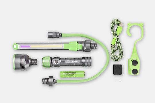 Rechargeable Multi-Head Work Light Set