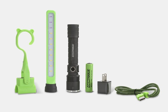 Rechargeable Dual LED/UV Inspection Light