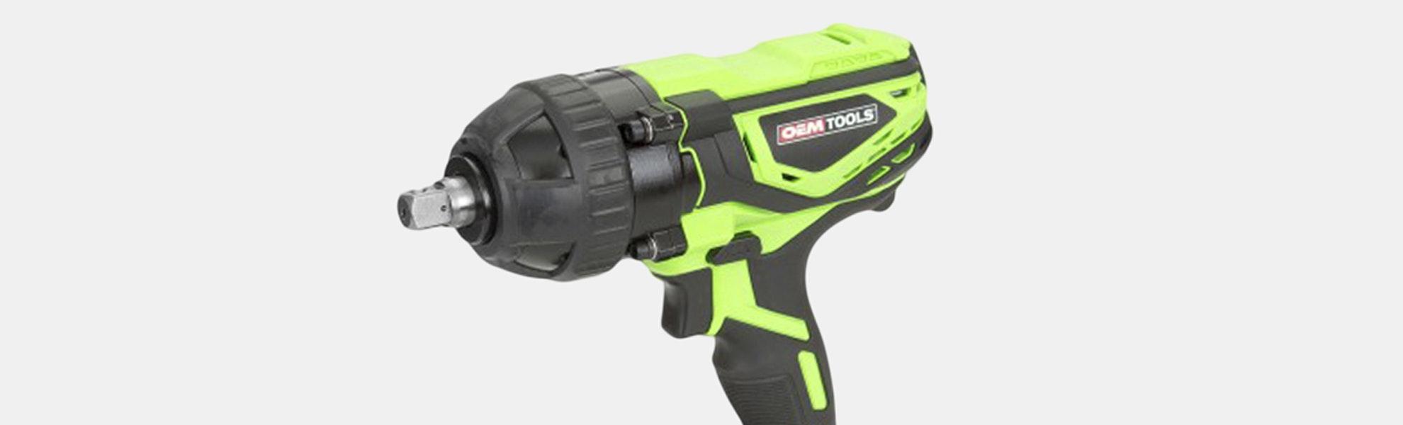 "OEMTools Heavy Duty 1/2"" Drive Li-Ion Impact Wrench"