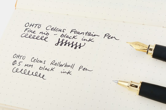OHTO Celsus Fountain or Rollerball Pen (2-Pack)