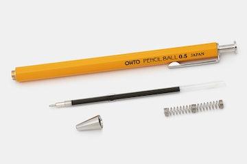 OHTO Pencil Ball Ballpoint & Gel Ink Pens (3-Pack)