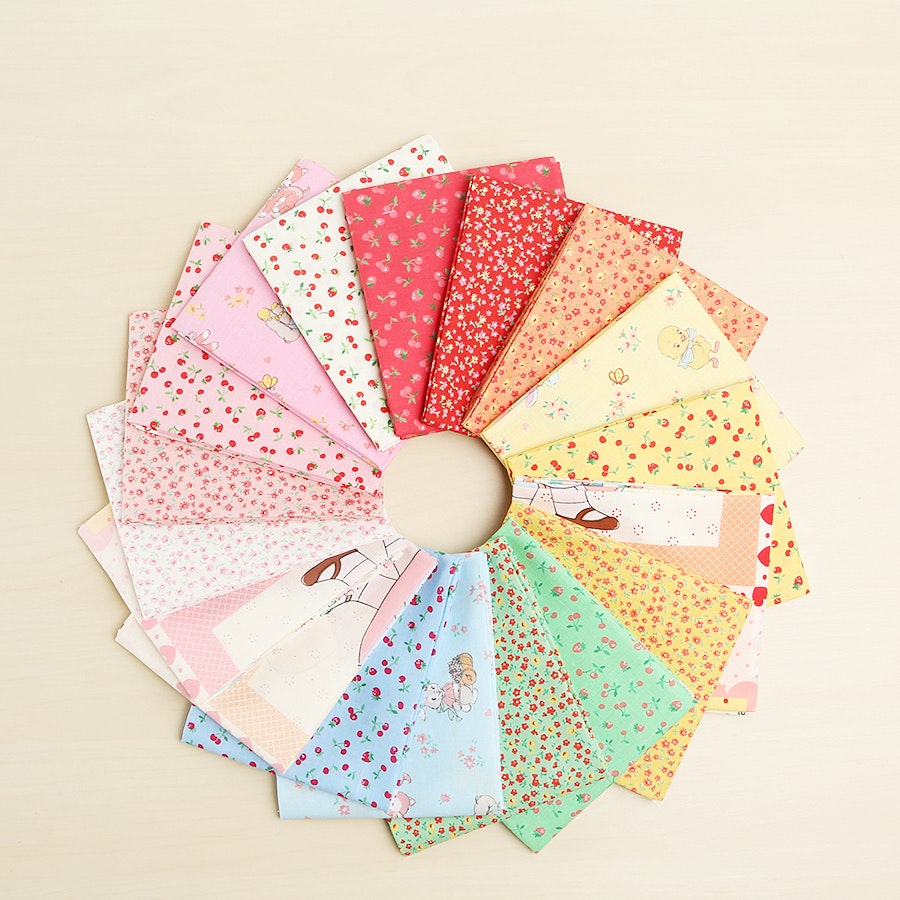 Old New 30's by Lecien Fat Quarter Bundle
