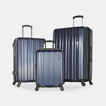 Olympia Raven 3-Piece Luggage Set