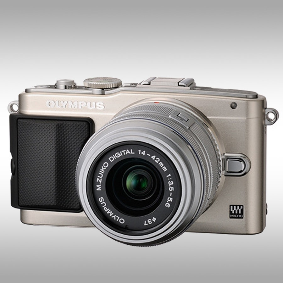 Olympus E-PL5 Mirrorless Camera w/ 14-42mm Lens