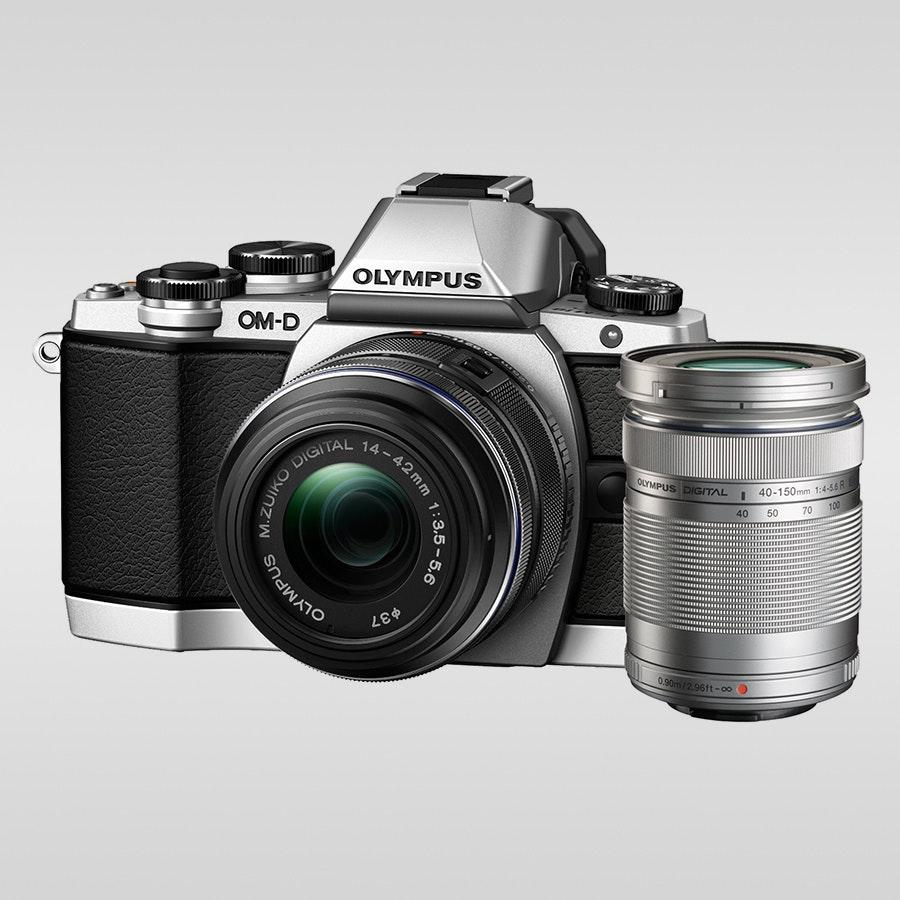 Olympus EZ-M4015-R 40-150mm Zoom Lens (Silver)