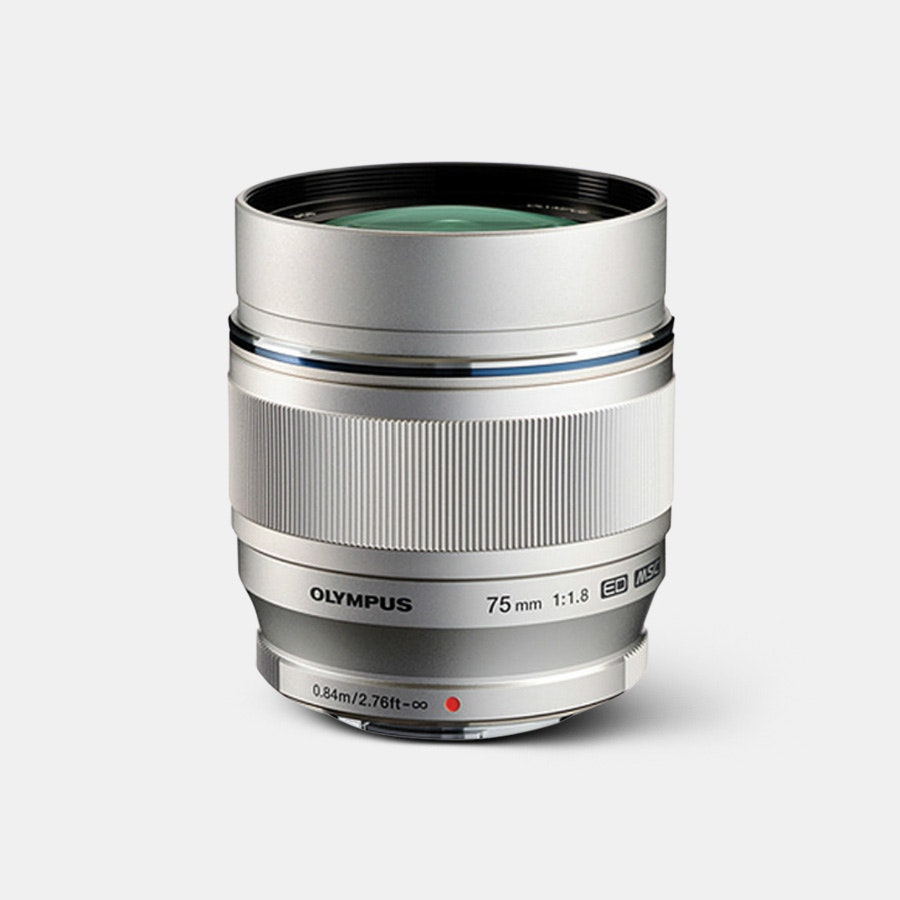 Olympus M. Zuiko 75mm f1.8 Lens