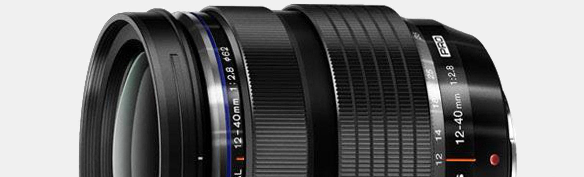 Olympus M. Zuiko ED 12-40mm f/2.8 Pro Lens