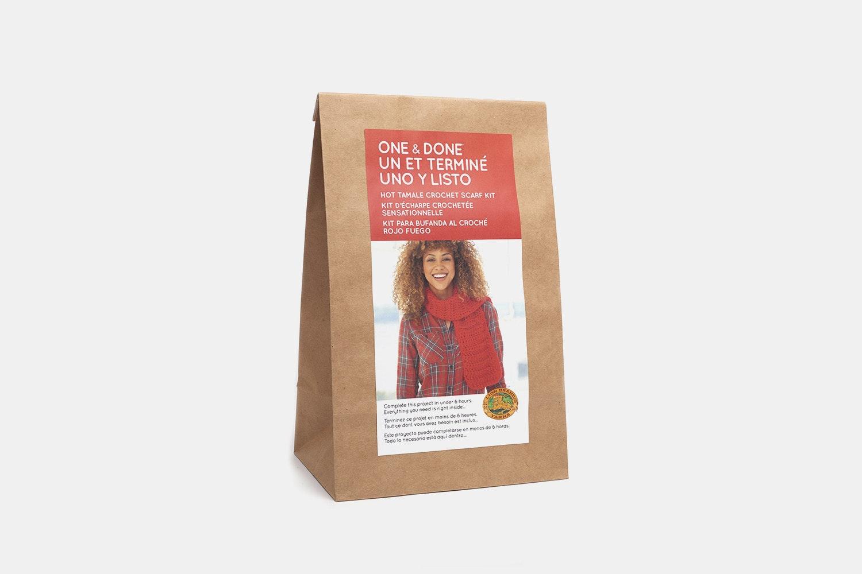 Hot Tamale Crochet Scarf Kit