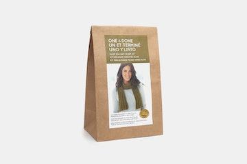 Olive You Knit Scarf Kit