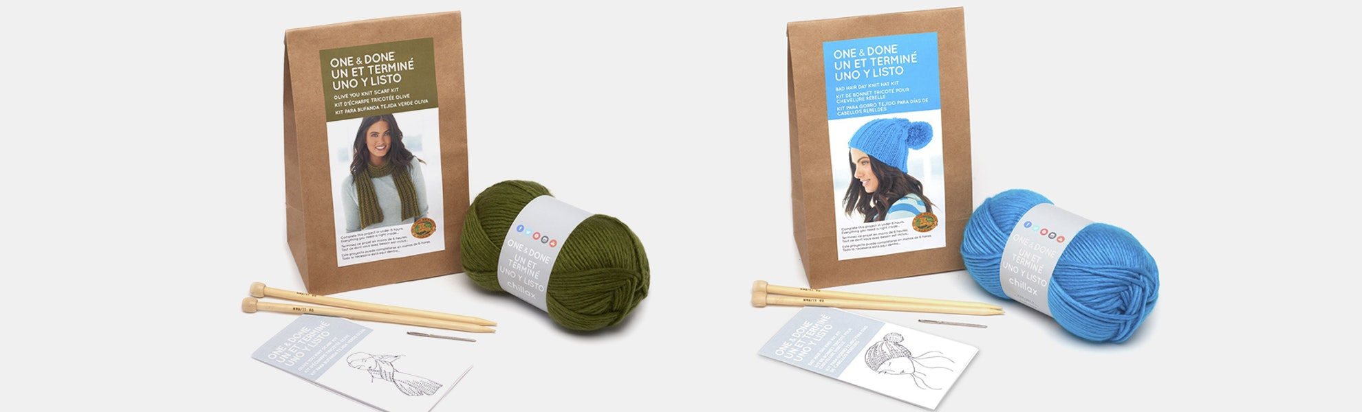 One & Done Yarn Kit (2-Pack)