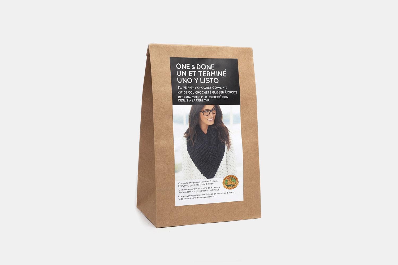 Swipe Right Knit Cowel Kit