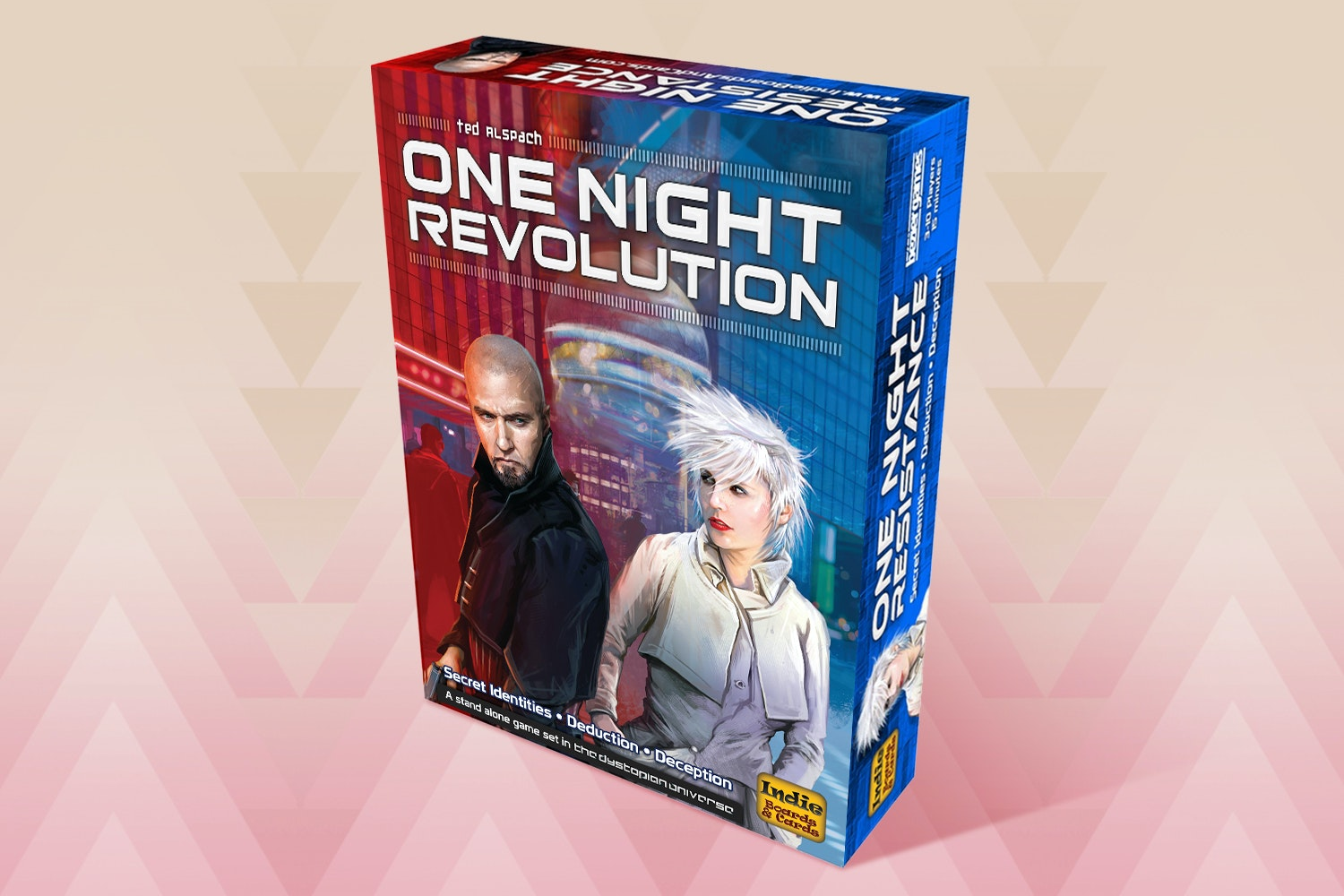 One Night Revolution Board Game
