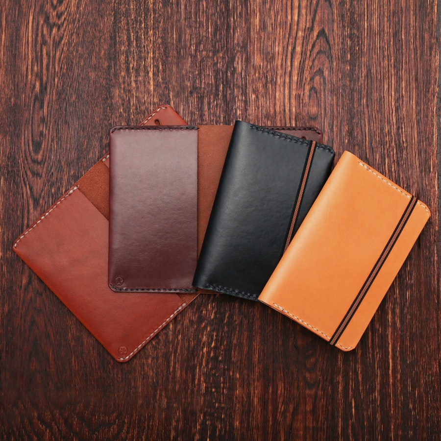 One Star Leather Rhodia Unlimited Cover