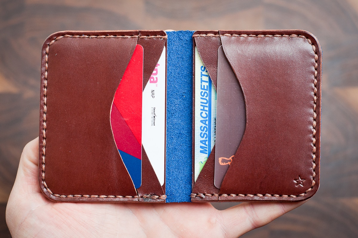One Star 6 Pocket Horizontal Wallet