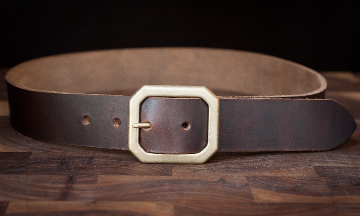 One Star Horween Chromexcel Leather Belt