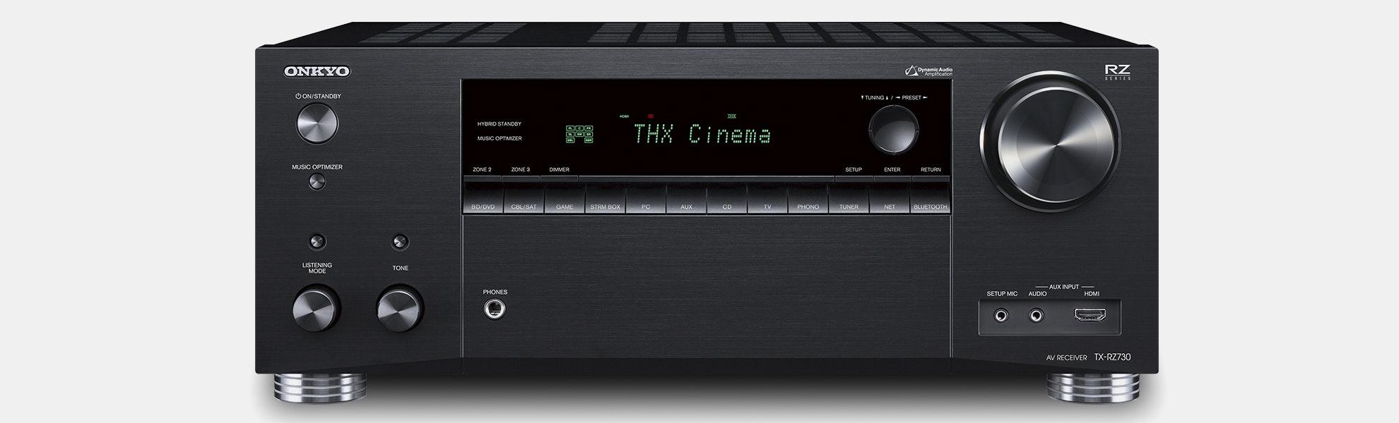 Onkyo TX-RZ730 9.2ch Network AV Receiver
