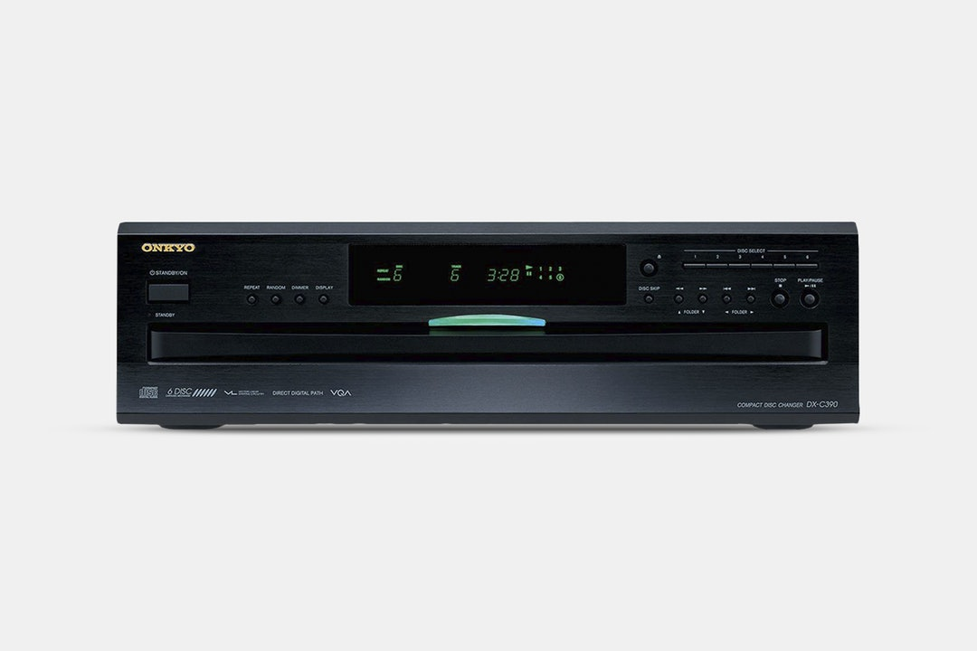 Onkyo DX-C390 6-Disk CD Changer w/ MP3 CD Playback