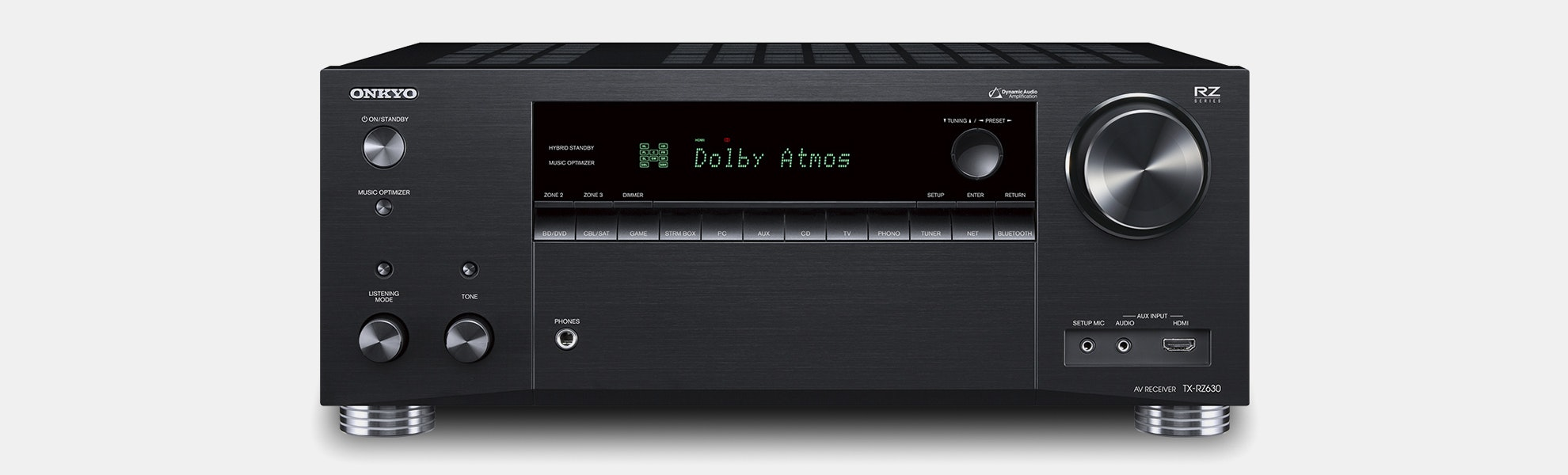 Onkyo RZ630/730/830 Dolby Atmos/DTS:X Receivers