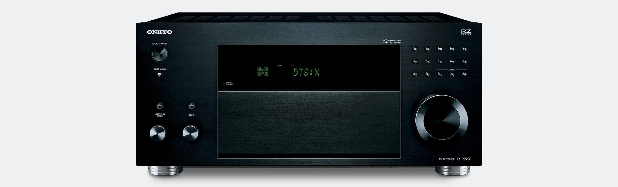 Onkyo TX-RZ Series THX Dolby Atmos DTS:X Receivers