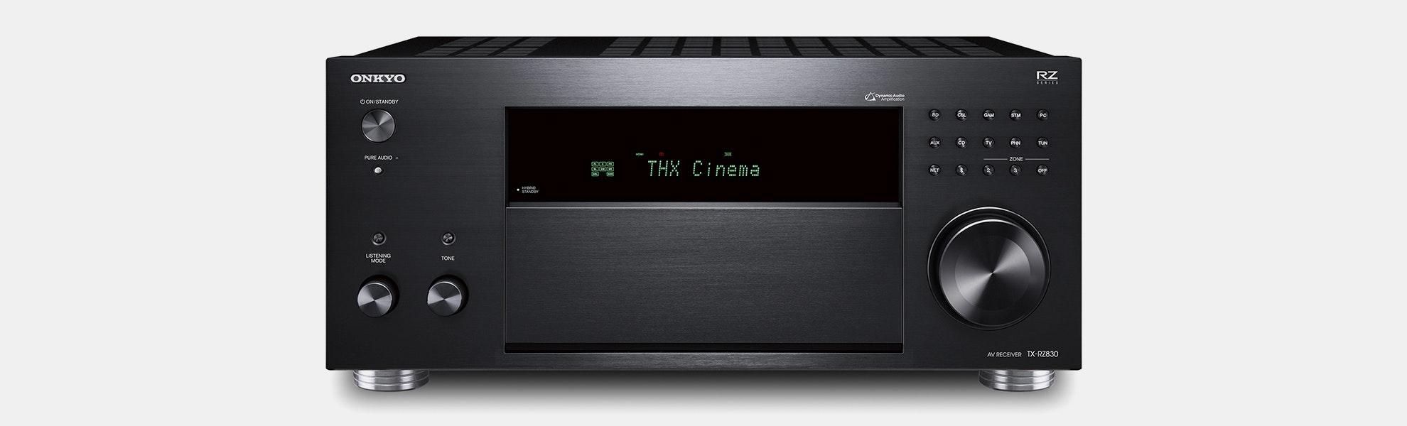 Onkyo TX-RZ830 9.2-Ch Dolby Atmos AV Receiver