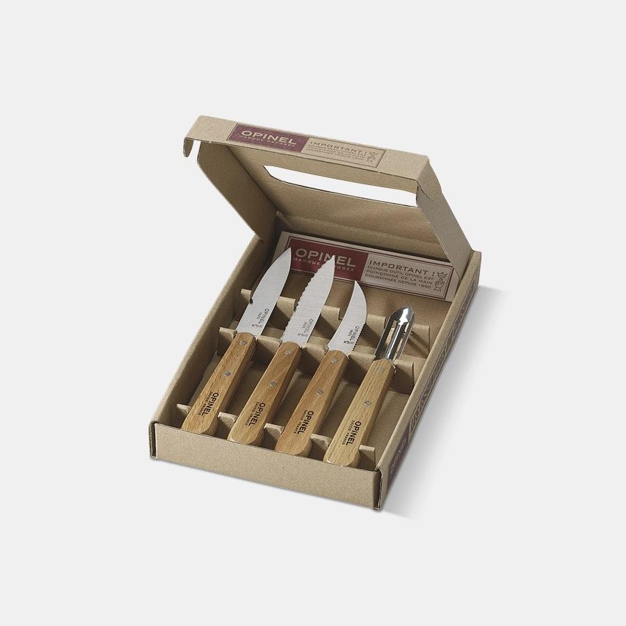 Opinel Natural Essentials Box Set
