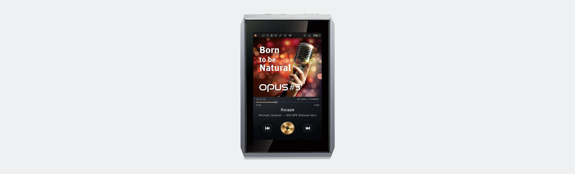 Opus #3 Digital Audio Player