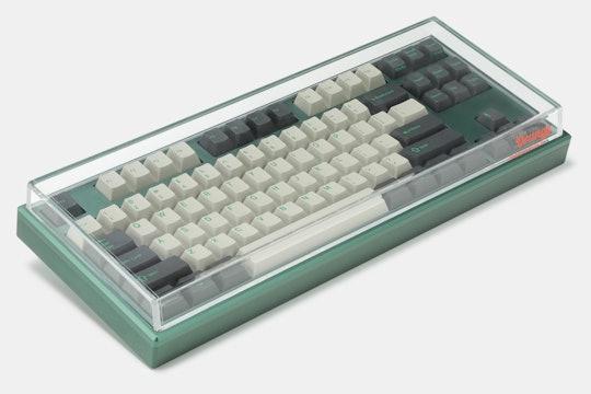 Orange Acrylic Anti-Dust Keyboard Cover