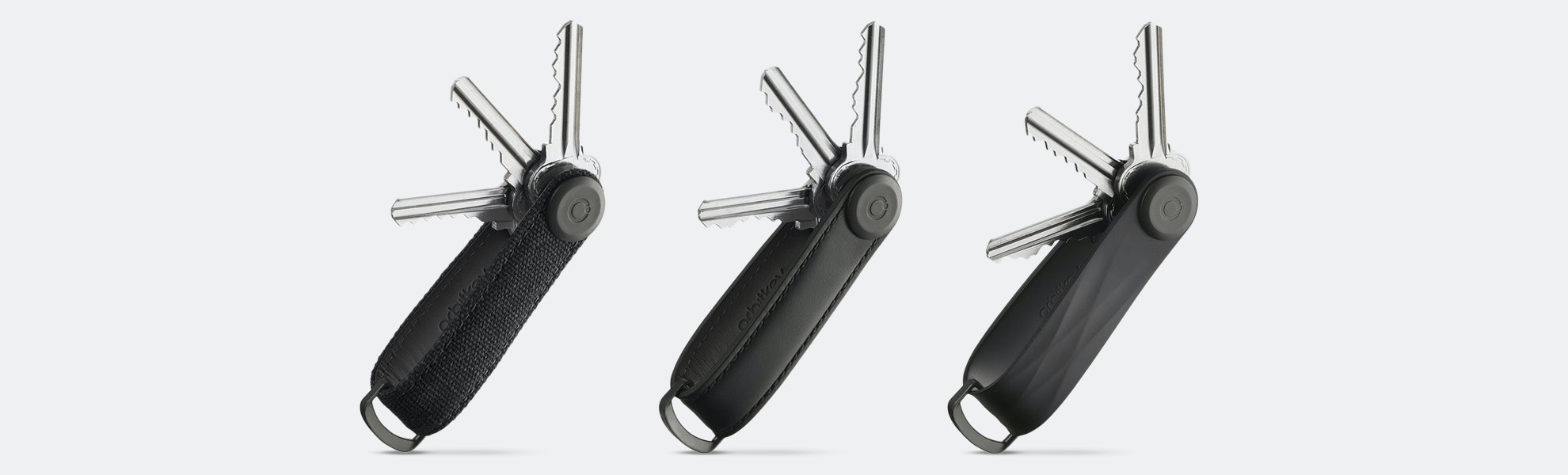 Orbitkey Black Limited-Edition Key Organizer