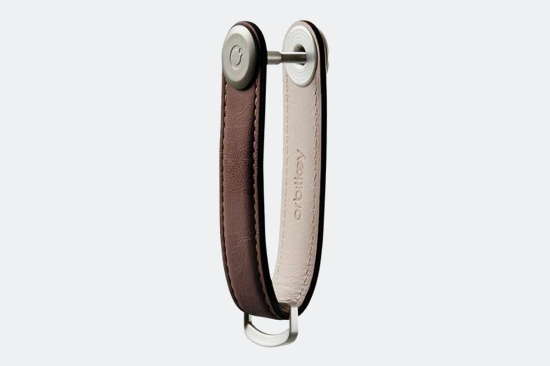 Leather Espresso / Brown Stitching