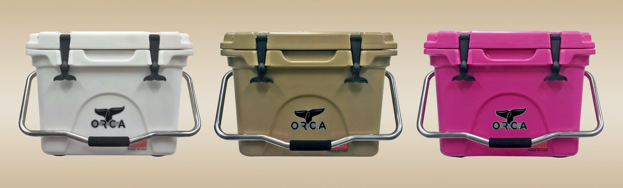 ORCA Insulated Coolers (20/26/40 Quart)