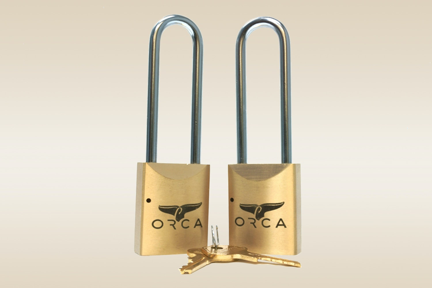 ORCA Pro Series Locks: Brass (Set of 2)
