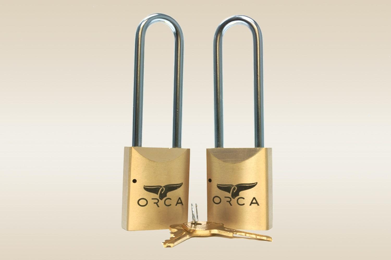 ORCA Pro Series Locks: Brass (Set of 2)