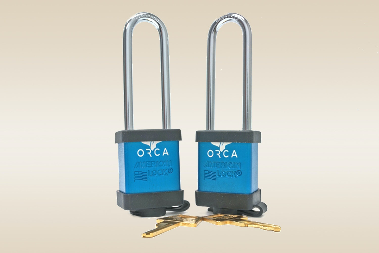 ORCA Pro Series Locks: Blue (Set of 2)