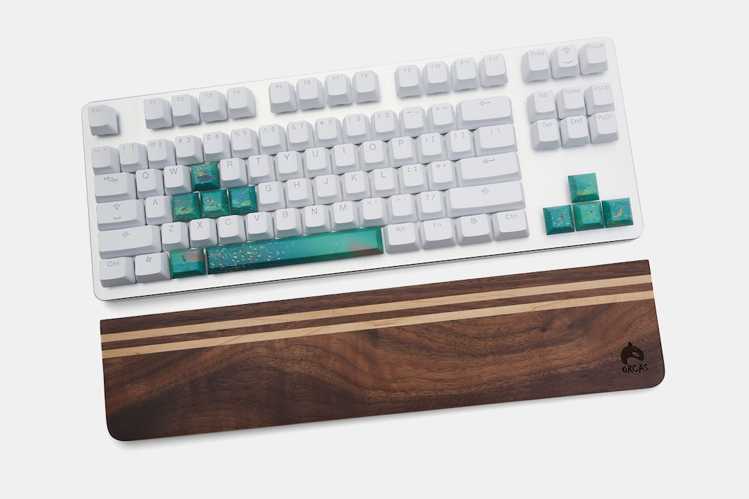 Orcas Wooden Wrist Rests