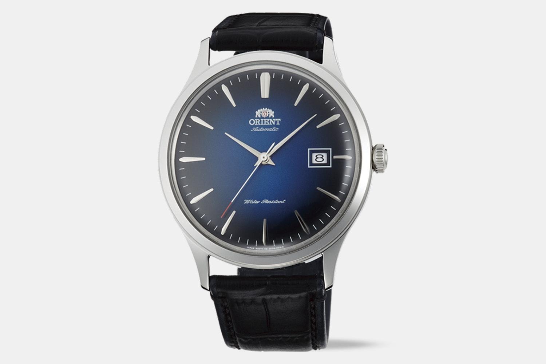 FAC08004D0 | Blue Dial, Black Leather Strap