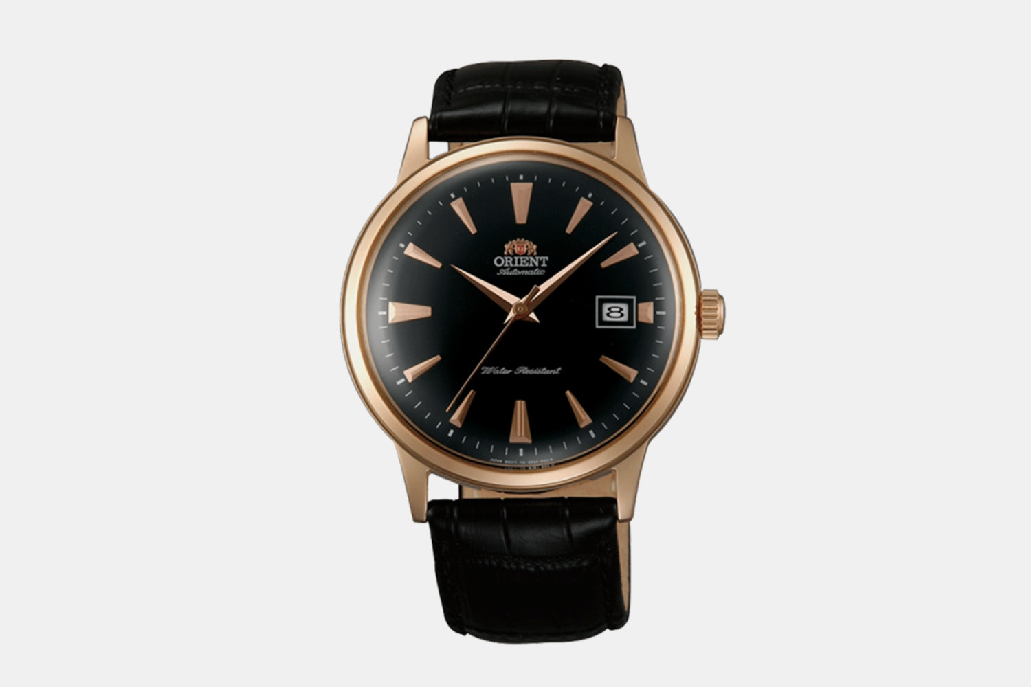 "FAC00001B0 | ""Version 1"" Rose Gold Case, Black Dial, Rose Gold Markers (+ $5)"