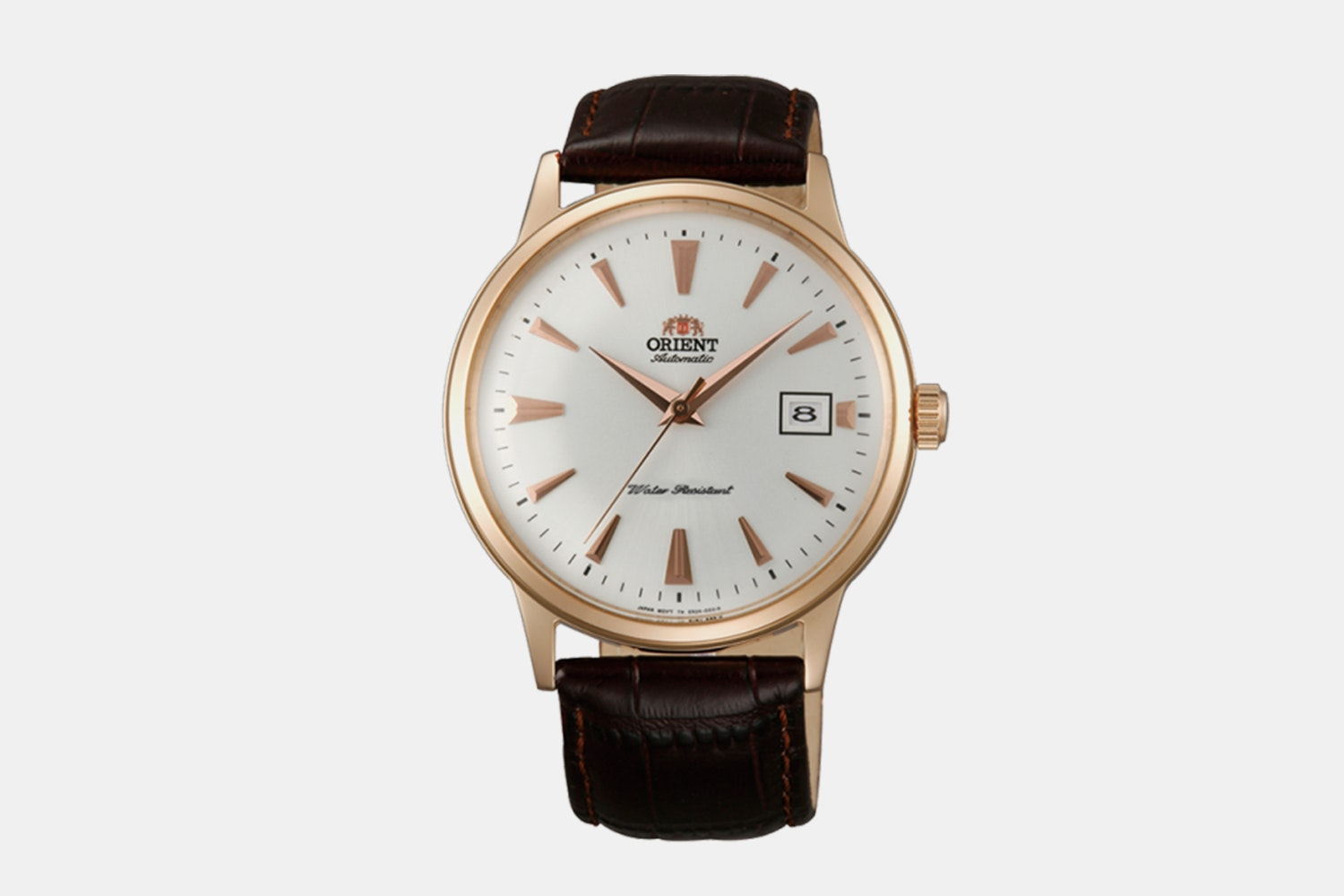 "FAC00002W0 | ""Version 1"" Rose Gold Case, White Dial, Rose Gold Markers, No Numerals (+ $5)"