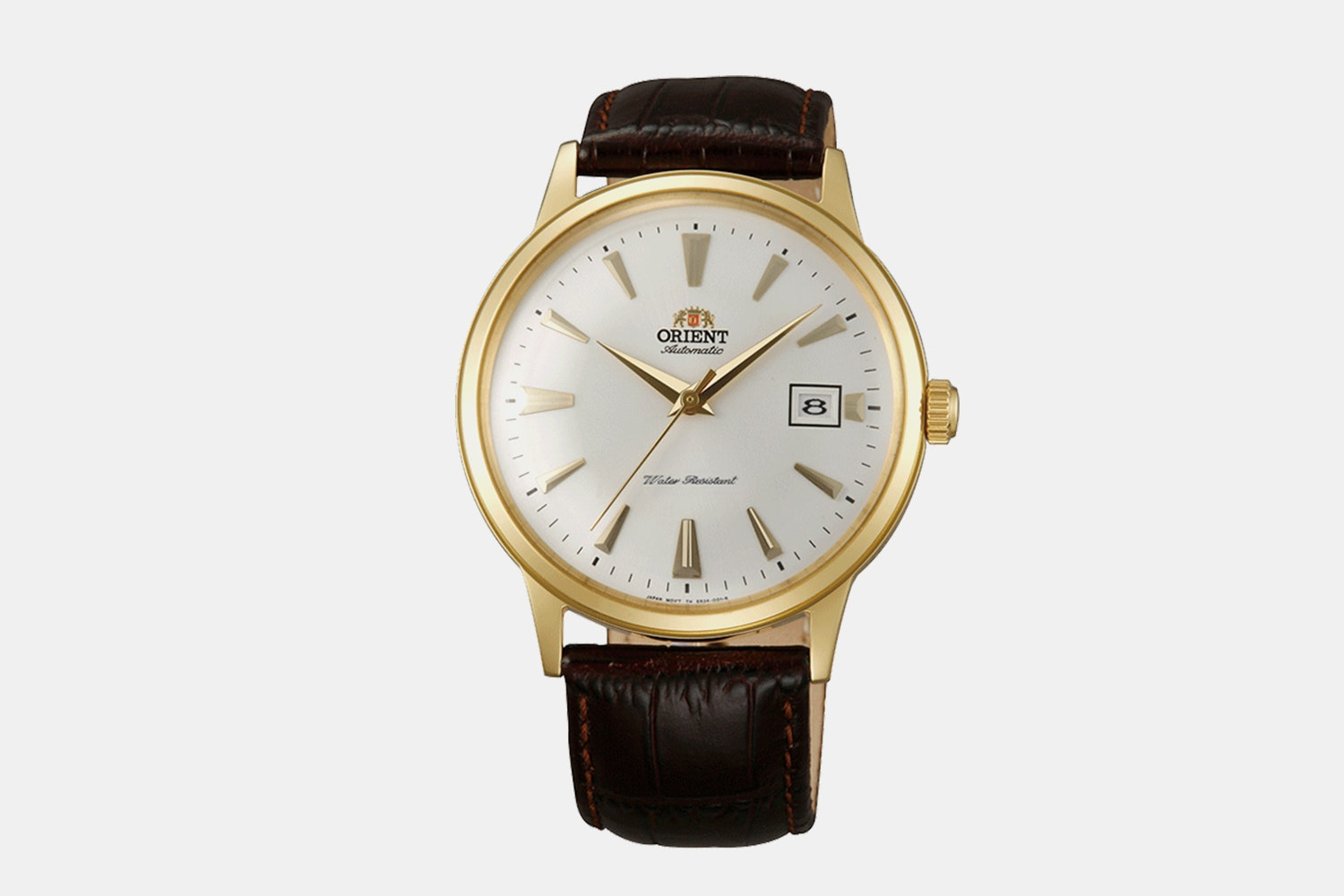 "FAC00003W0 | ""Version 1"" Gold Case, White Dial, Gold Markers, No Numerals (+ $5)"