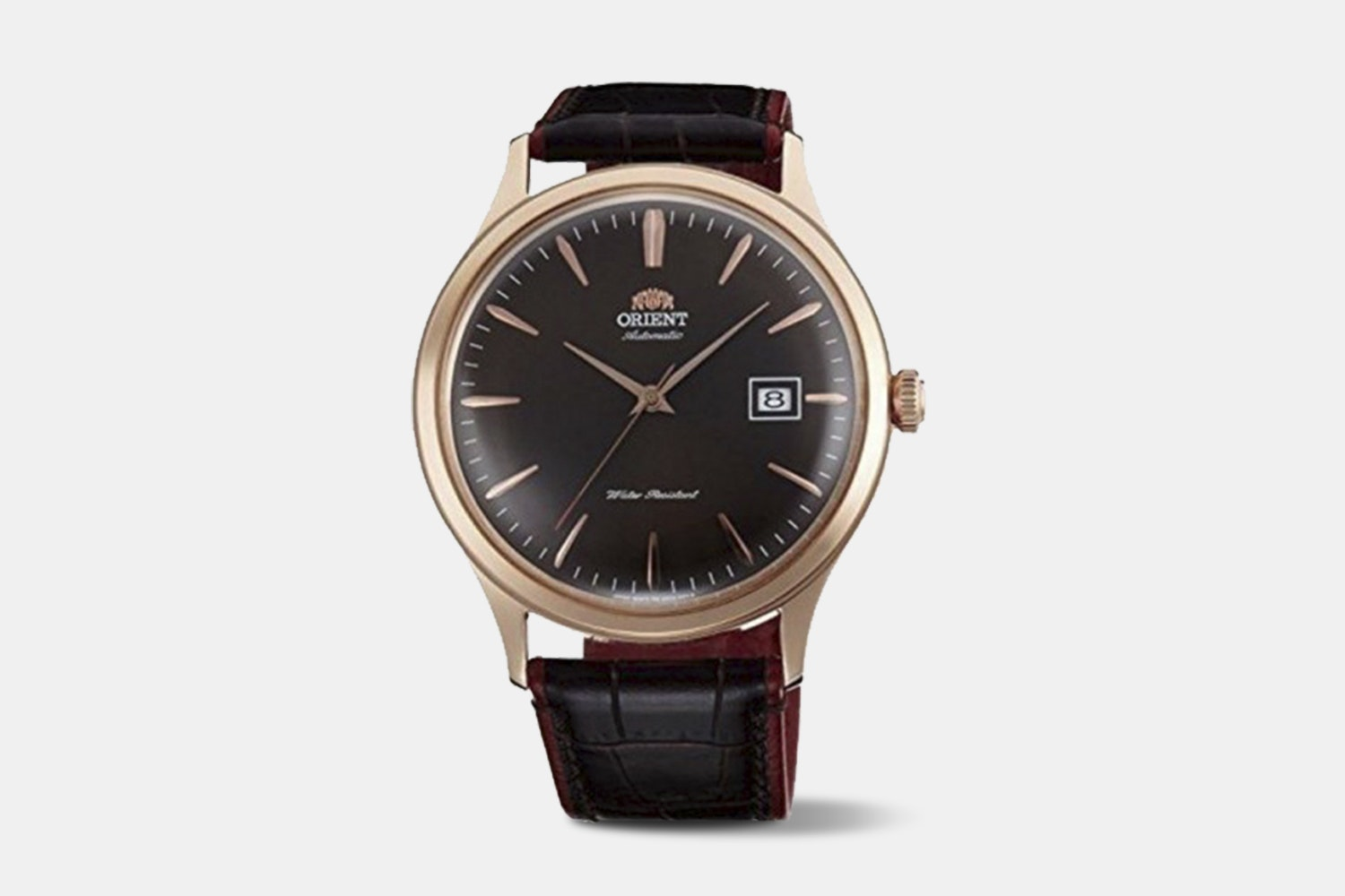 "FAC08001T0 | ""Version 4"" Rose Gold Case, Brown Dial, Brown Leather Strap"
