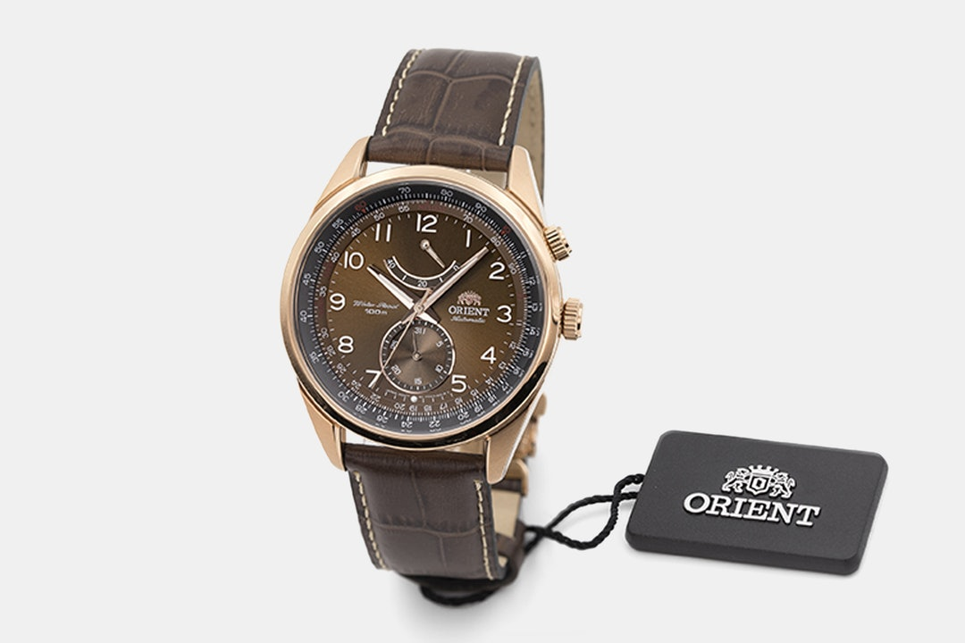 Orient Power Reserve Automatic Watch
