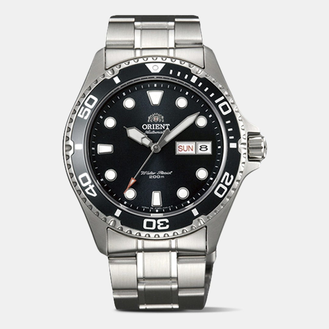 Shop Orient Blue Ray Dive Watch & Discover Community Reviews at Drop