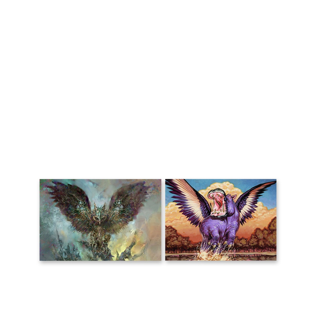 Original Magic Art MTG Licensed Art Prints (2-Pack)