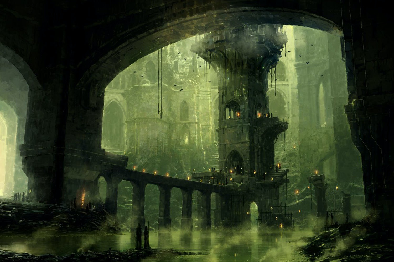 Swamp (Ravnica) - Richard Wright