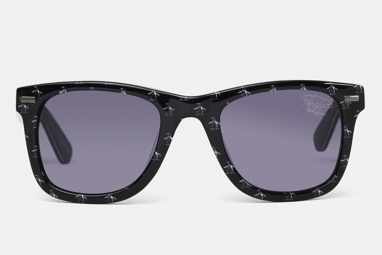 Black frames with gray lenses