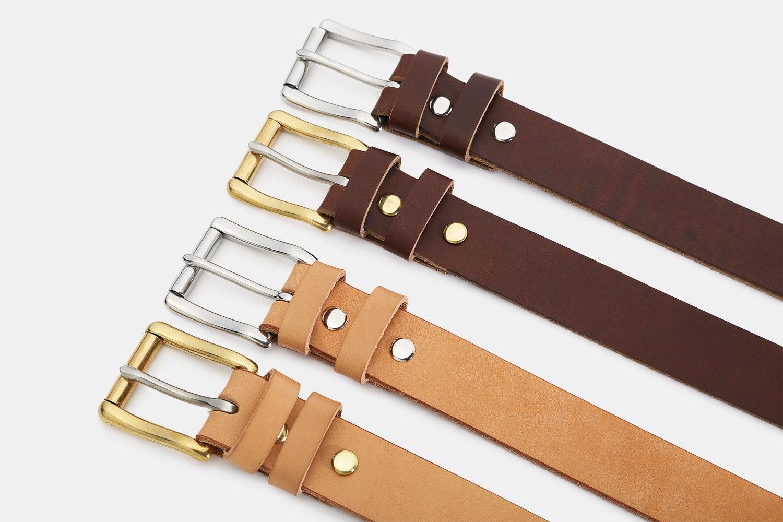 "Orion 1 1/4"" Retanned Leather Belt"