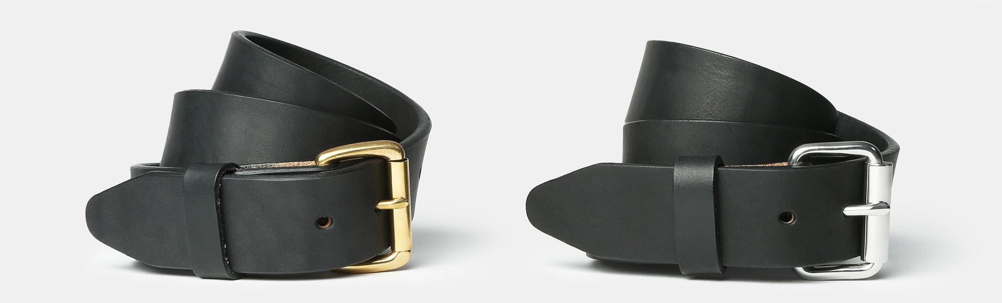 Orion Black Bridle Belt
