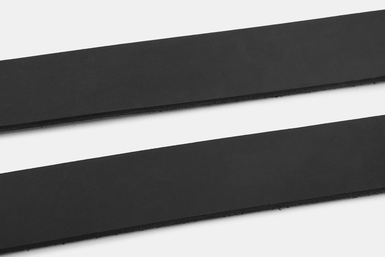 Orion Black Latigo Leather Belt–Massdrop Exclusive