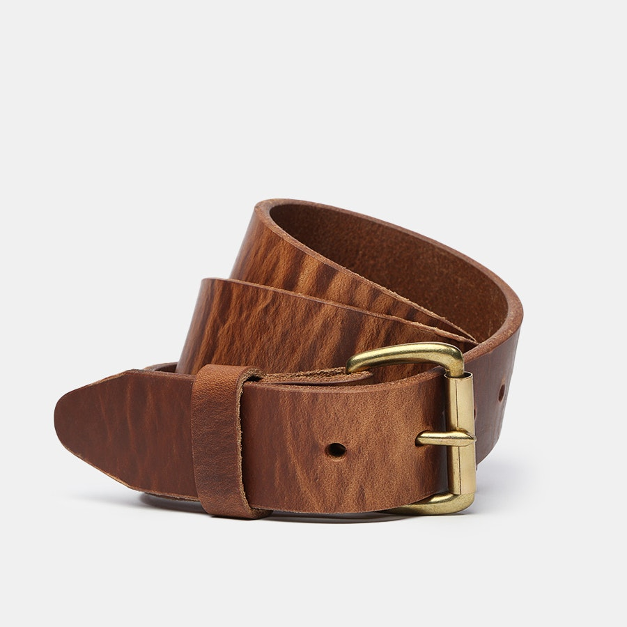 Orion Hot-Dipped Harness Leather Belt